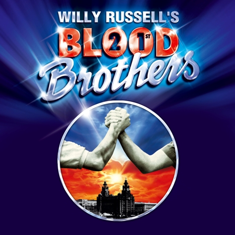 Blood Brothers 21st Anniversary Logo